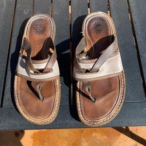 Ugg Australia flip flops size 9
